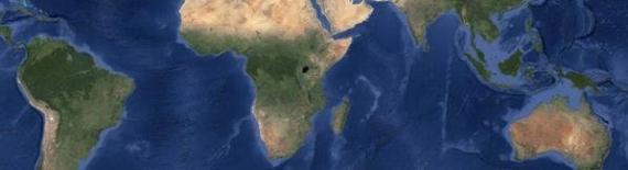 Lasy deszczowe - mapa