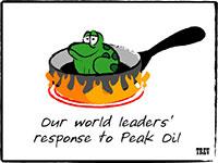 Peak-Oil żaba