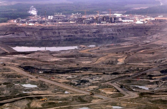 Wydobycie piasków roponośnych w Kanadzie