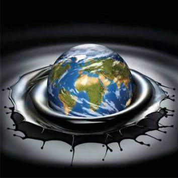 Ziemia wpada do ropy