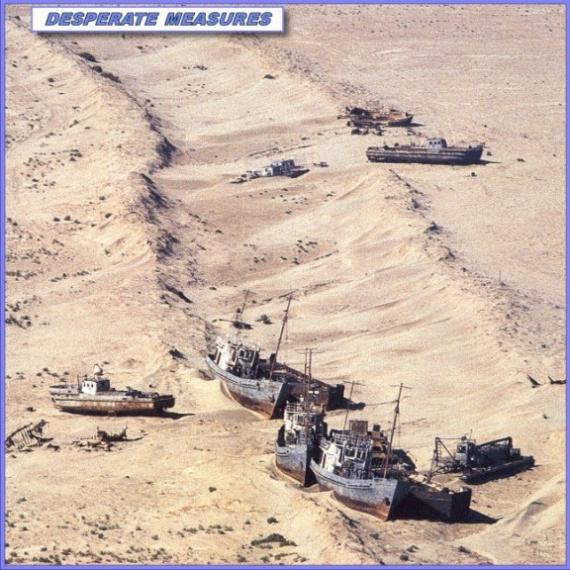 Morze Aralskie - porzucone statki
