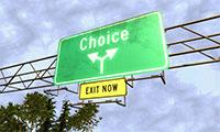 Którą drogę wybrać?