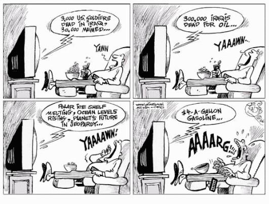 Ignorowane problemy - komiks