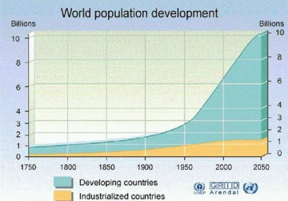 Wzrost liczby ludności