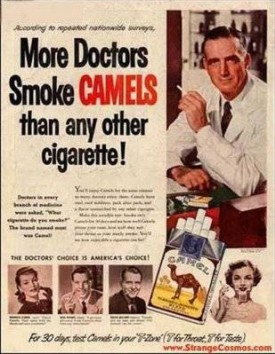 Doktorzy najchętniej palą Camele