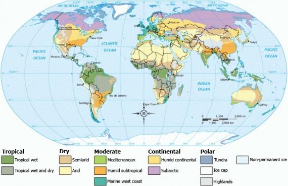 Strefy klimatyczne